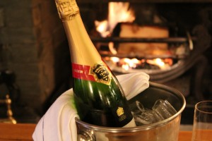 bollinger by the fire