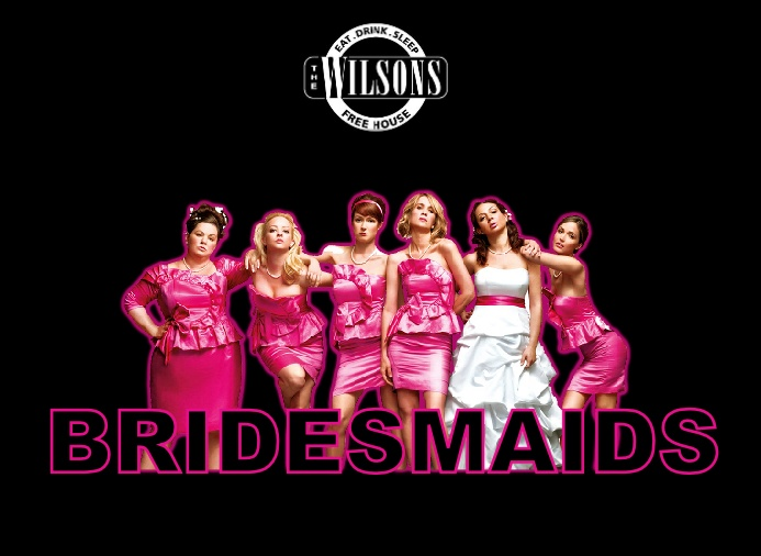Movie Night at The Wilsons, Torver - Bridesmaids